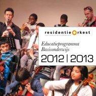 2012 | 2013 - Residentie Orkest