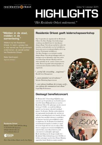 bekijken - Residentie Orkest