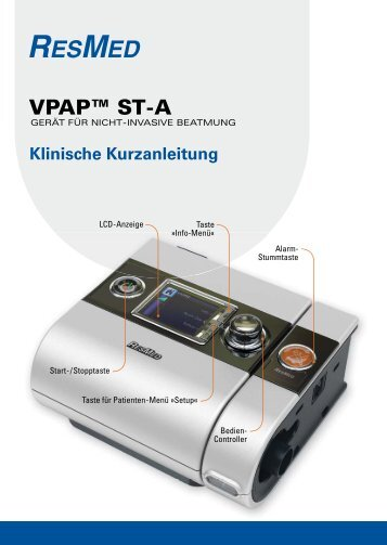 VPAP™ ST-A - ResMed