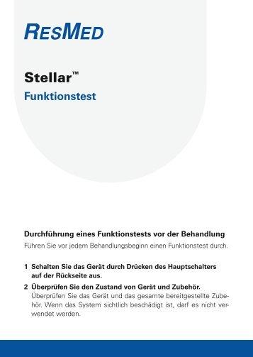 Stellar™ - ResMed