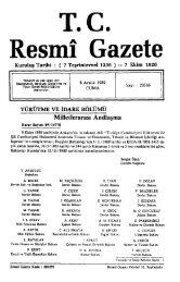 T.C.. Resmî Gazete - Resmi Gazete
