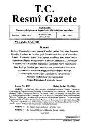 TC.. Resmî Gazete - Resmi Gazete