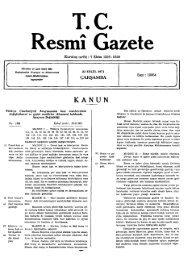Re T.C. smı Gazete - Resmi Gazete