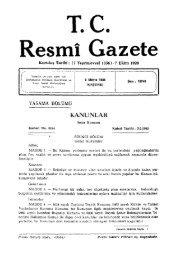 T.C. Resmî Gazete - Resmi Gazete