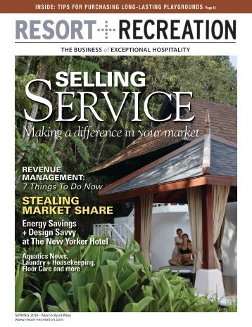 SELLING - Resort + Recreation Magazine