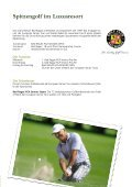PGA Sponsorenheft - Grand Resort Bad Ragaz - Page 3