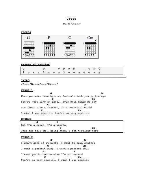 download radiohead creep