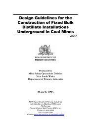 MDG 7 Design guidelines for the construction of fixed bulk distillate ...