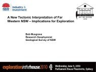 A New Tectonic Interpretation of Far Western NSW - Implications for ...