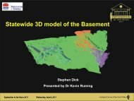 Why build a Statewide 3D model of the basement? - NSW ...