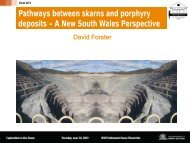 Skarn and porphyry deposits - NSW Department of Primary ...