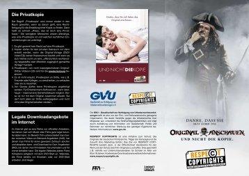 Die Privatkopie - Respe©t Copyrights
