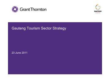 Gauteng Tourism Sector Strategy - Restaurant Association of South ...