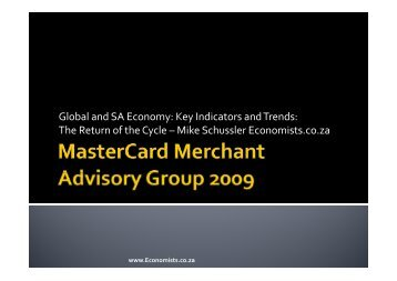 Global Economy - Restaurant Association of South Africa