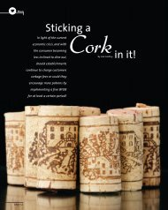 Sticking a cork in it - Restaurant Association of South Africa