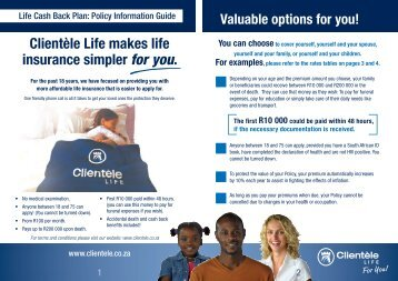 Clientèle Life makes life insurance simpler for you.