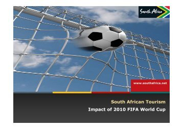 2010 world cup impact Economic impacts of the fifa soccer world cups in france 1998, germany 2006, and outlook for south africa 2010  the economic impact of the 2010 soccer world cup .