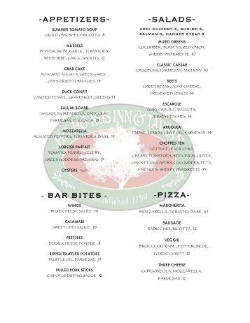 2 2012 summer tavern menu-1 - Restaurant Passion