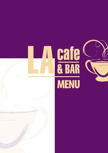 Download the LA Cafe Menu - UK Restaurant Menus