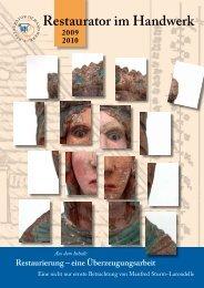 Restaurator im Handwerk – Ausgabe 2009 / 2010 - Kramp & Kramp