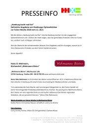 Aktualisiert Hamburg kocht mal fair - Angebote mit fairen Zutaten in ...