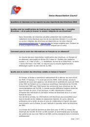 documents - Swiss Resuscitation Council