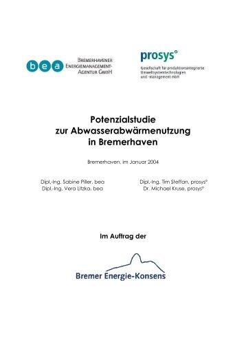 Potenzialstudie Abwasser-Internet - ReSys AG