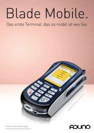Das erste Terminal, das so mobil ist wie Sie. - Retail Management
