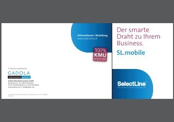 SelectLine SL.mobile - Retail-management.ch