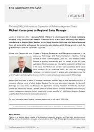 PR Michael Kunze - Retarus