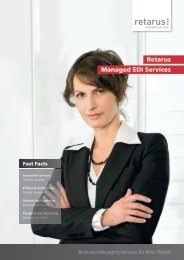Retarus Managed EDI Services