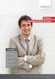 Retarus Managed E-Mail Services