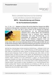 Pressemitteilung - SEPA - Retarus