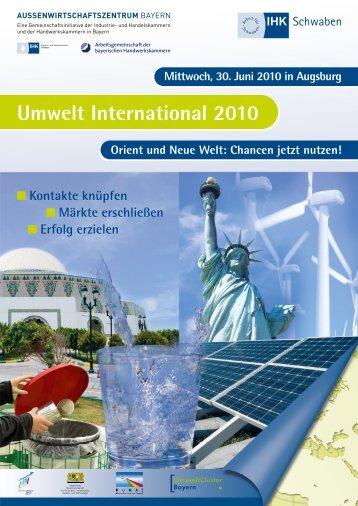 Flyer und Anmeldung - Außenwirtschaftszentrum Bayern