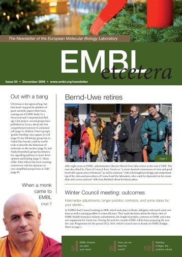 Bernd-Uwe retires - EMBL Grenoble