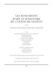 les monuments d'art et d'histoire du canton de ... - Reticulum Artis