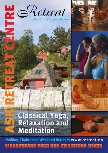brochure about Ask Retreat Centre - Scandinavian Yoga and ...