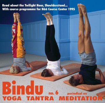 Bindu 22 - English 6.indd - Scandinavian Yoga and Meditation School
