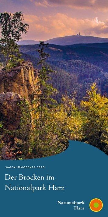Der Brocken im Nationalpark Harz