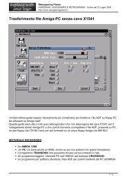 Trasferimento file Amiga-PC senza cavo X1541 - Retrogaming Planet