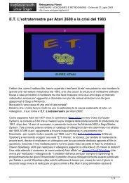 e-t-lextraterrestre - Retrogaming Planet