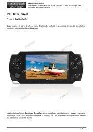 PSP MP5 Player - Retrogaming Planet