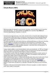 Chuck Rock (1991) - Retrogaming Planet