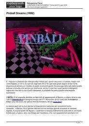Pinball Dreams (1992) - Retrogaming Planet