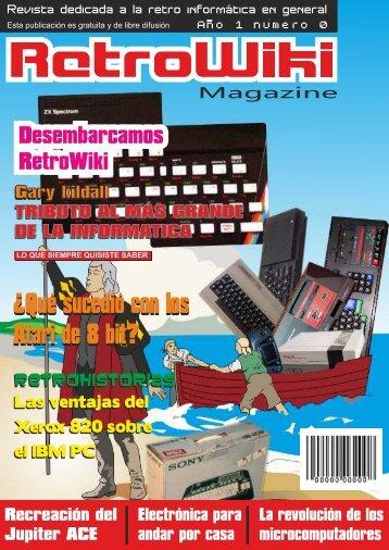 número 0 de Retrowiki Magazine