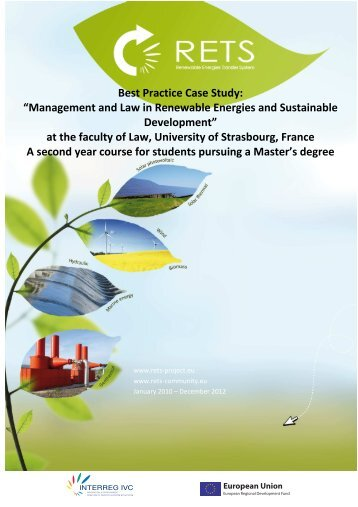"Best Practice Case Study: ""Management and Law in ... - RETS Project"