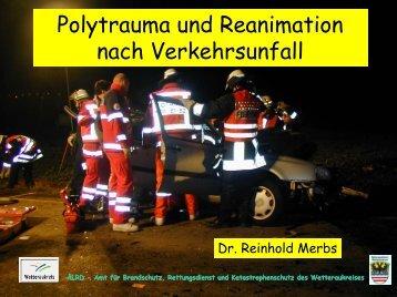 Polytrauma und Reanimation nach Verkehrsunfall - Rettungsdienst ...