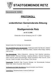 GR-Sitzungsprotokoll 2008-08 - .PDF - Retz