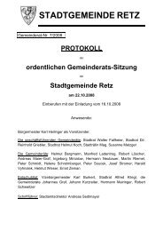 GR-Sitzungsprotokoll 2008-07 - .PDF - Retz