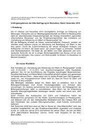Tabelle zur Auswertung des Fragebogens ... - Reuter Quartier